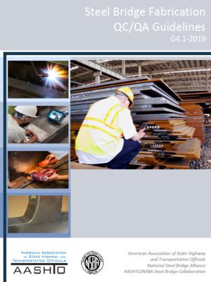 cover image of Steel Bridge Fabrication QC/QA Guidelines