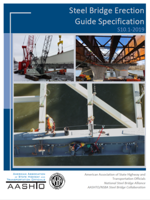 cover image of Steel Bridge Erection Guide Specification S10.1-2019