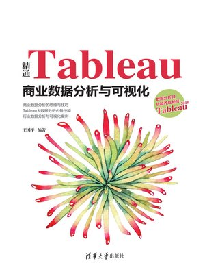 cover image of 精通Tableau商业数据分析与可视化
