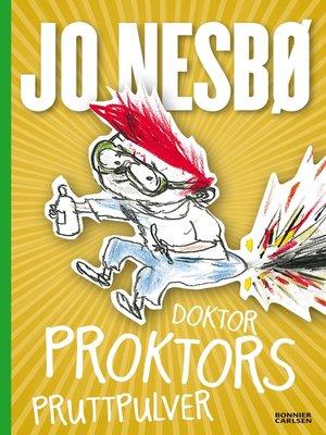 cover image of Doktor Proktors pruttpulver