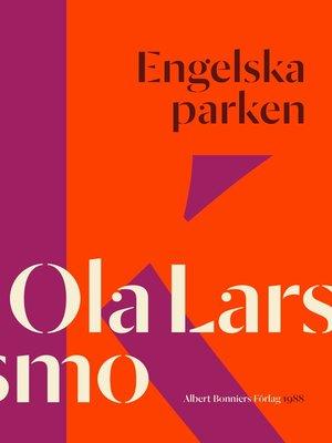 cover image of Engelska parken