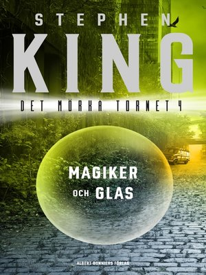 cover image of Magiker och glas