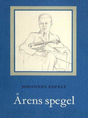 cover image of Årens spegel