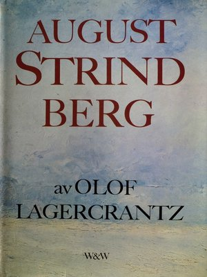 cover image of August Strindberg