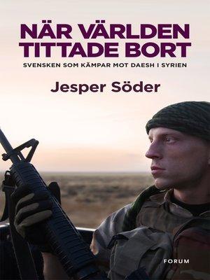 cover image of När världen tittade bort