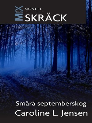 cover image of Smårå septemberskog