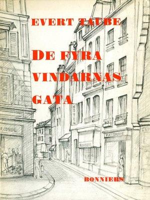 cover image of De fyra vindarnas gata