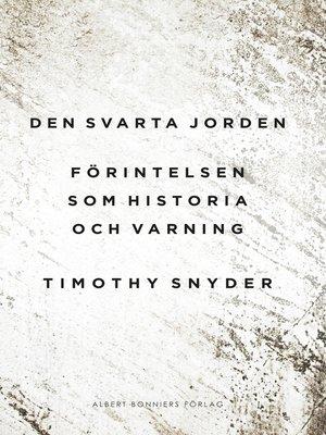 cover image of Den svarta jorden