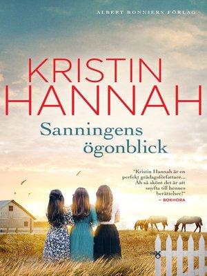 cover image of Sanningens ögonblick