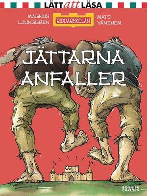 cover image of Jättarna anfaller!