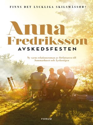 cover image of Avskedsfesten