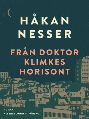 cover image of Från doktor Klimkes horisont