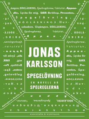 cover image of Spegelövning