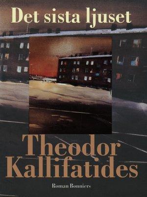 cover image of Det sista ljuset