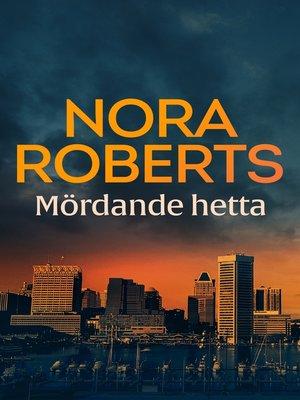 cover image of Mördande hetta
