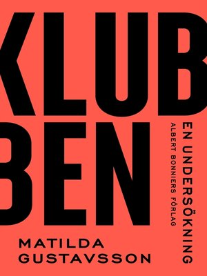 cover image of Klubben