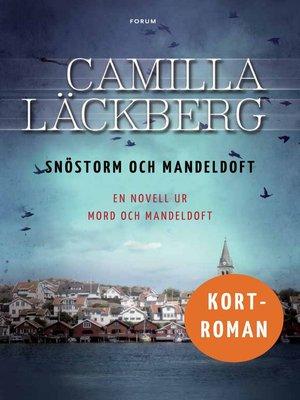 cover image of Snöstorm och mandeldoft