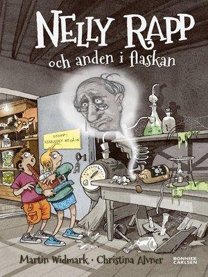 cover image of Nelly Rapp och anden i flaskan