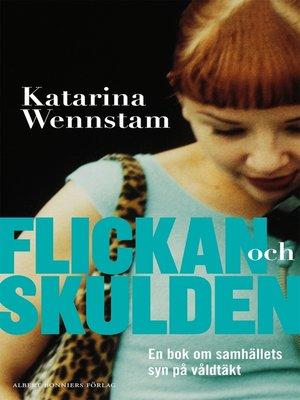 cover image of Flickan och skulden