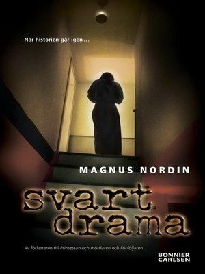 cover image of Svart drama