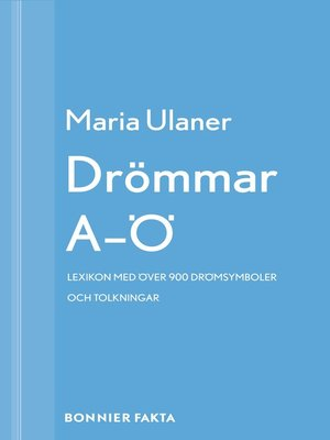 cover image of Drömmar A-Ö