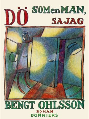 cover image of Dö som en man, sa jag