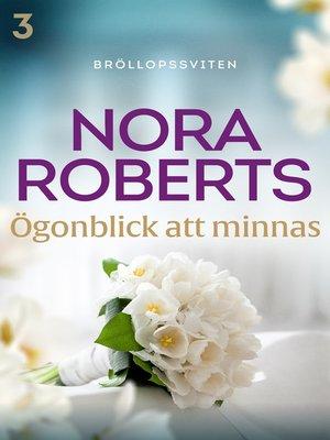 cover image of Ögonblick att minnas