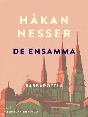 cover image of De ensamma