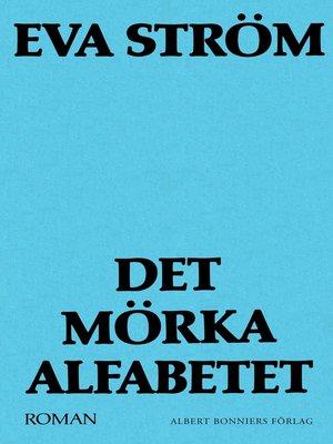 cover image of Det mörka alfabetet