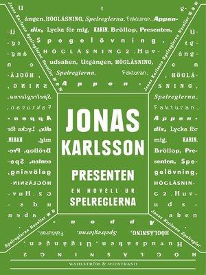 cover image of Presenten