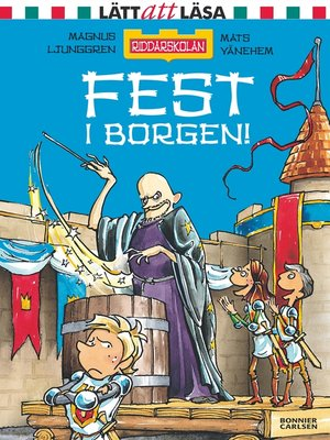 cover image of Fest i borgen!
