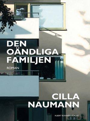 cover image of Den oändliga familjen