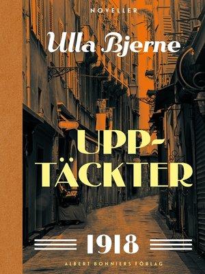 cover image of Upptäckter