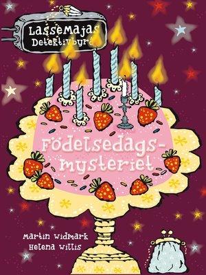 cover image of Födelsedagsmysteriet