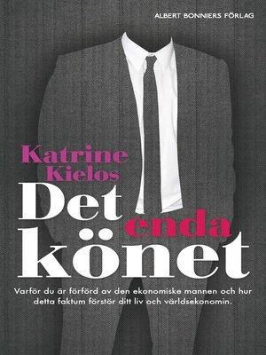 cover image of Det enda könet
