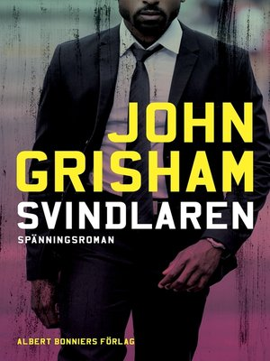 cover image of Svindlaren