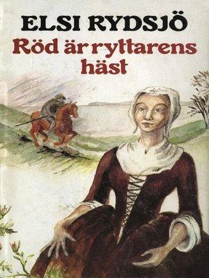 cover image of Röd är ryttarens häst