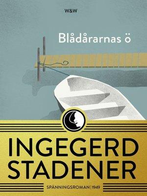 cover image of Blådårarnas ö