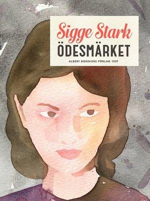 cover image of Ödesmärket
