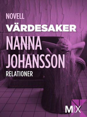 cover image of Värdesaker