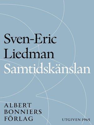 cover image of Samtidskänslan