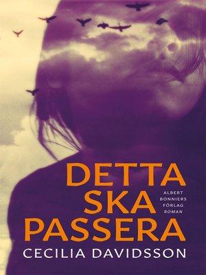 cover image of Detta ska passera