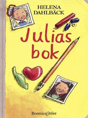 cover image of Julias bok