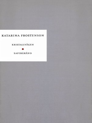 cover image of Kristallvägen ; Safirgränd