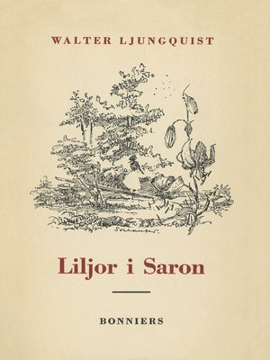 cover image of Liljor i Saron