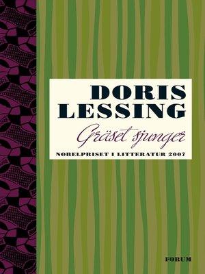 cover image of Gräset sjunger