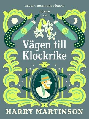 cover image of VägentillKlockrike