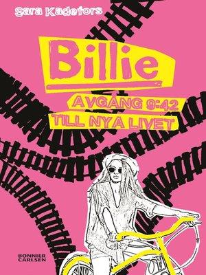 cover image of Billie. Avgång 9