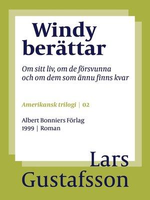 cover image of Windy berättar