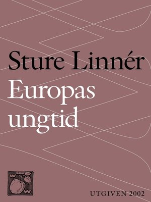 cover image of Europas ungtid